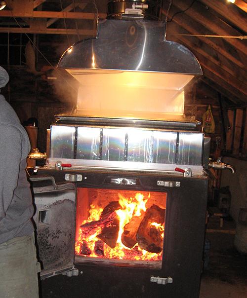 Firing Evaporator